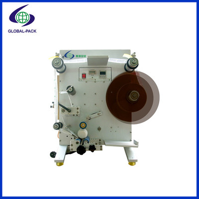 Semi automatic round bottles labeling machine GLB-130